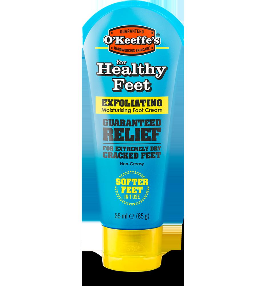 O'Keeffe's Healthy Feet Exfoliating Foot Cream - tube 85g